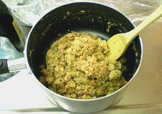 初めての鯛味噌作り♪