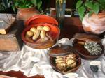 「朝食 パン」Beduur Restaurant Ubud Hanging Gardens(バリ島)