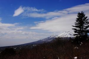 見晴台-浅間山