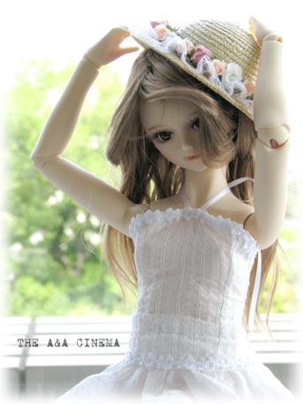 夏のお嬢さん。