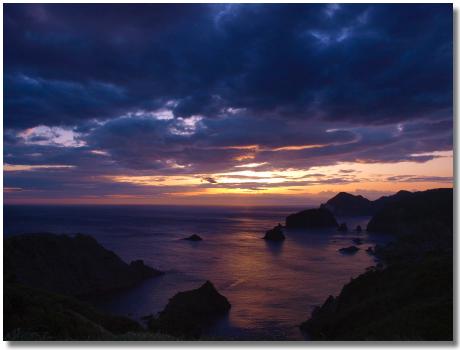 あいあい岬の夕陽3