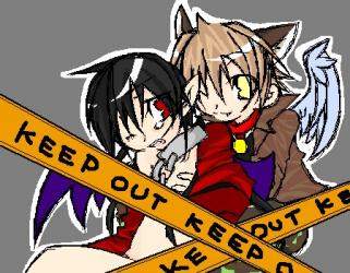 KEEP OUT☆