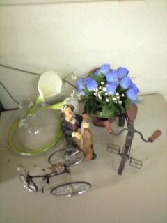 ピエロと自転車