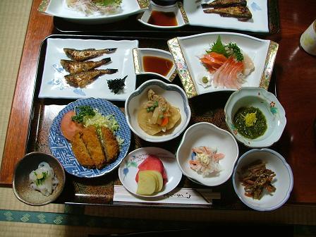 賀津恵さんのお料理。
