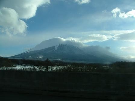 東北道からの岩手山