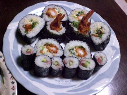 エビフライ寿司