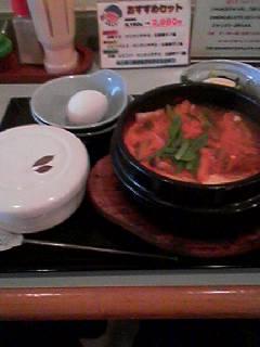 冷麺館チゲ2