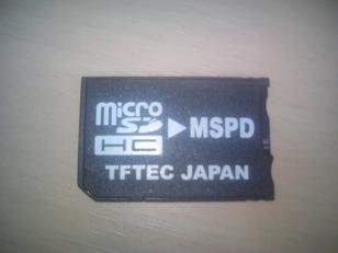microsd change adapter