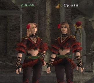 ライラと2ショット