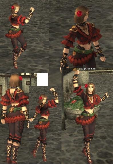 踊り子Cyula完成