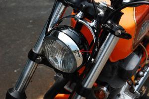 XS250 ライトステー 1