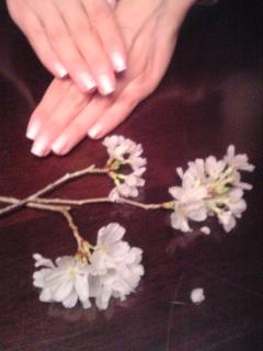 sakura nail