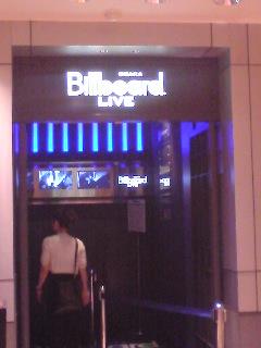 billboard live 大阪