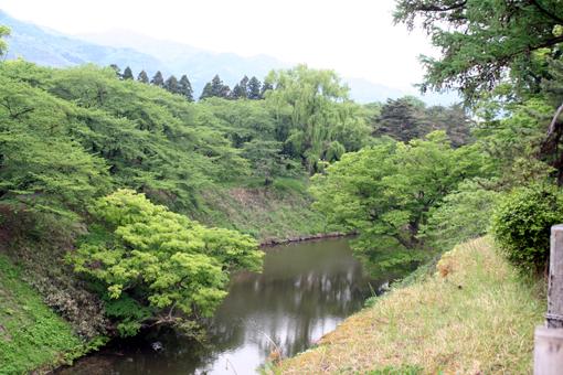 200805鶴ヶ城堀