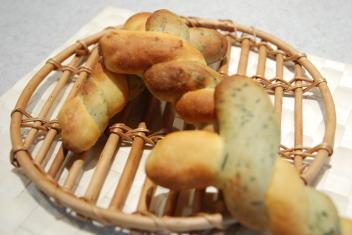 白神酵母2色の野菜ブレッド