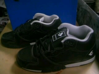 Savier Trainer blk leather 5-4