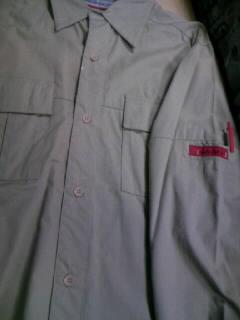 Savier Cargoシャツ 18-2