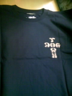 Dog Town Cross logo T 5-4