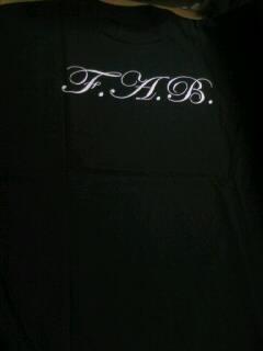 FAB Pinstrip logo T 5-3
