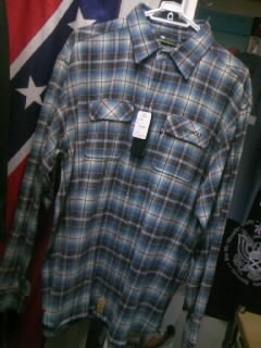 Moku チェックネルLSシャツ 2-1