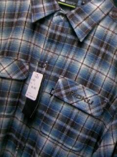 Moku チェックネルLSシャツ 2-2