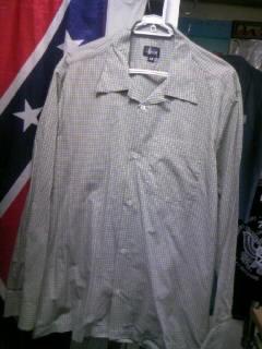 Stussy オープンLSシャツ 3-1