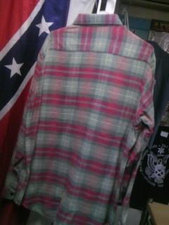 ACS HempチェックネルLSシャツ 5-3
