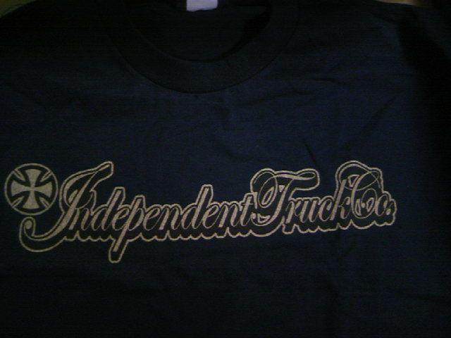Independent Gold script T 4-2