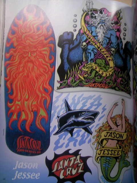 SK8board Art of Jim Phillips 8-6a