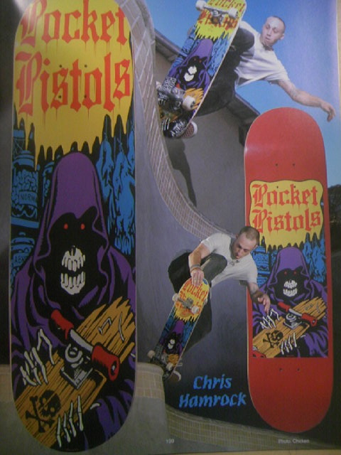 SK8board Art of Jim Phillips 8-7a