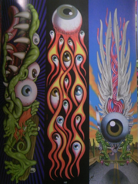 SK8board Art of Jim Phillips 8-8a