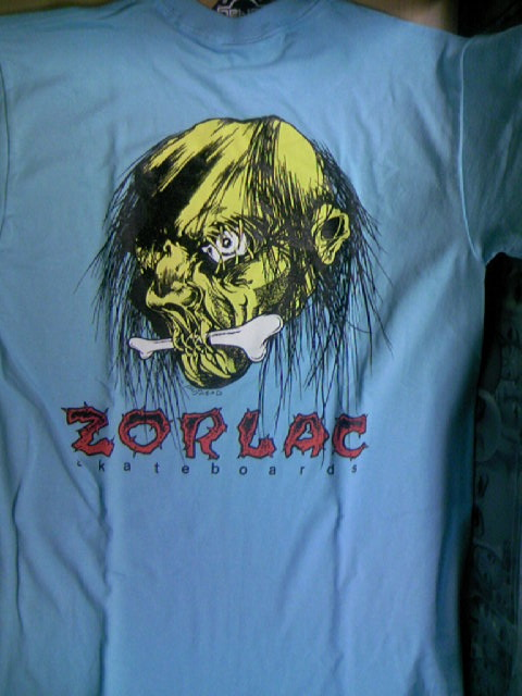 Zorlac Shrunken Head T 3-2z
