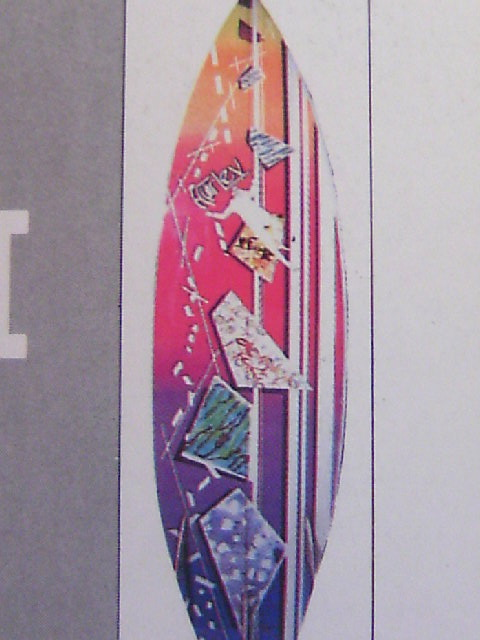 Hurley Surfboard a-4z