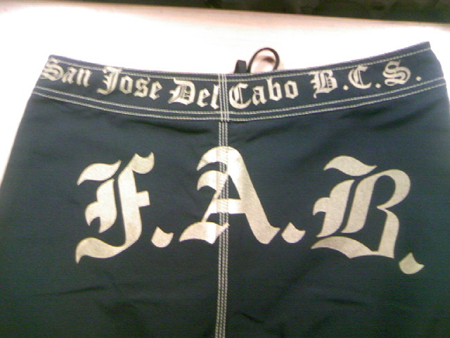 FAB FAB8604ボードショーツ 6-3