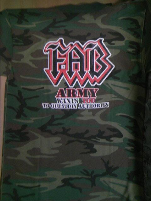 FAB Fab8906 Army T 6-3z