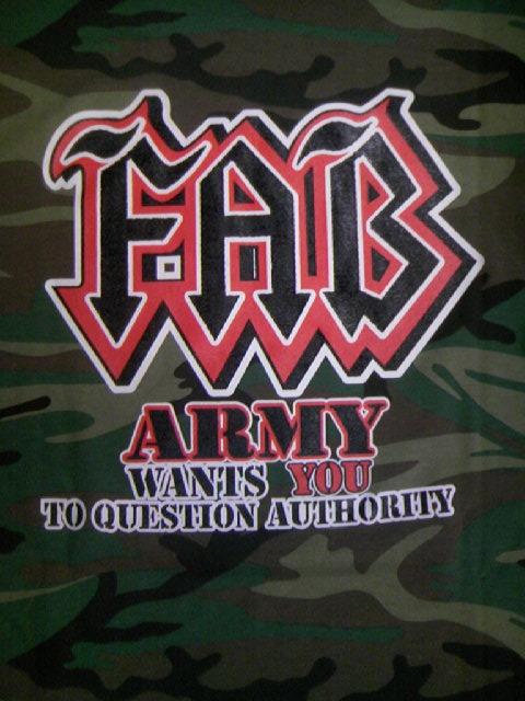 FAB Fab8906 Army T 6-4z