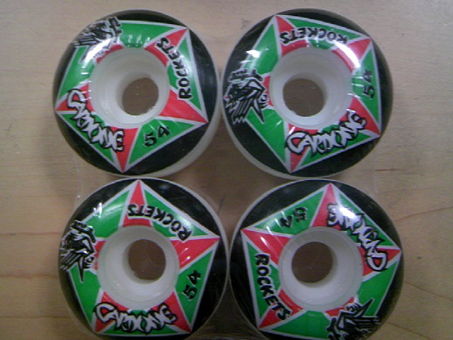 Hosoi Rockets Cardone wheel 54mm 2-1
