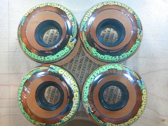 PPS Orange Crusher 60mm78A wheel 4-1