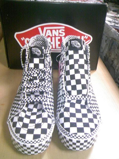 Vans Checker SK8-Hi 2-1z
