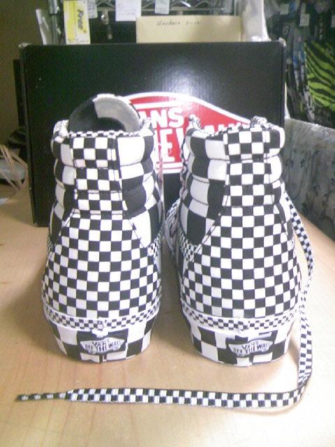 Vans Checker SK8-Hi 2-2z