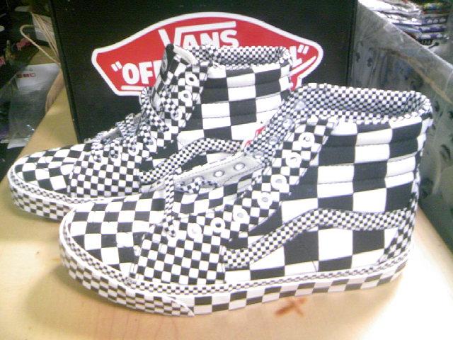 Vans Checker SK8-Hi 2-3