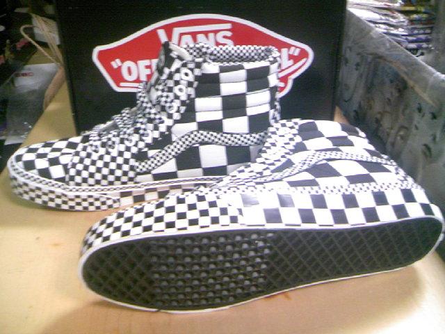 Vans Checker SK8-Hi 2-4