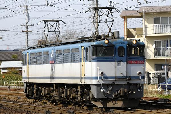 3460レ  EF65-1066号機