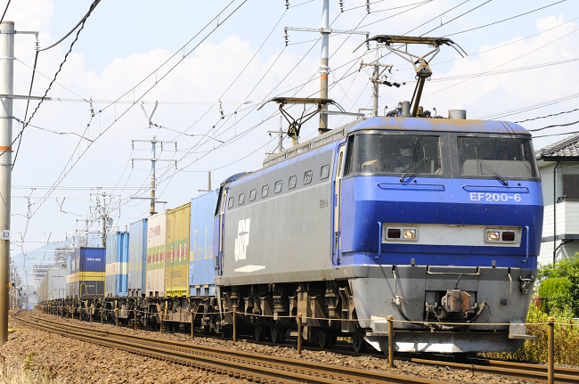 1050レ代走 EF200-6