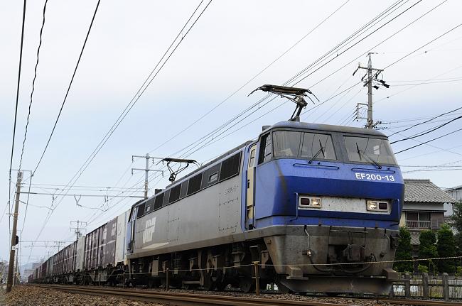 8056レ EF200-13号機