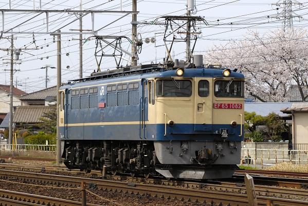 3460レ  EF65-1082