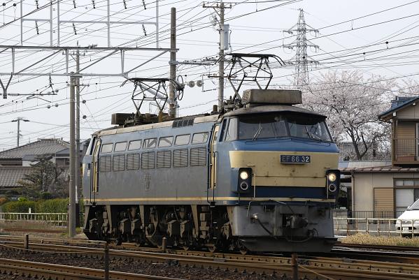 単572レ  EF66-32