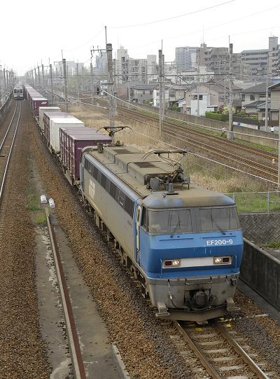 1055レ  EF200-9