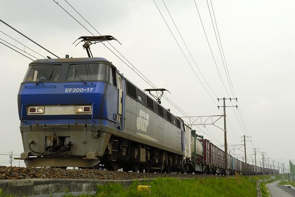 8056レ  EF200-17