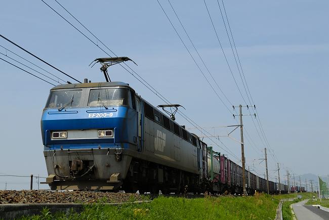 8056レ  EF200-9